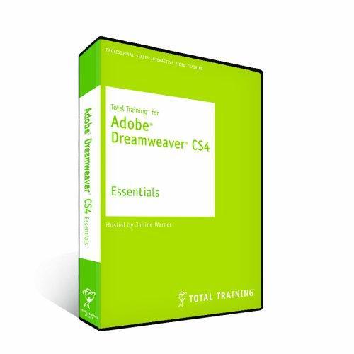 Total Training for Adobe Dreamweaver CS4: Essentials (PC DVD)