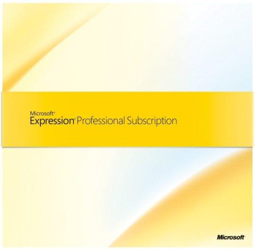 Microsoft Expression Professional Subscription deutsch