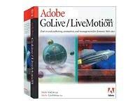 Adobe GoLive / LiveMotion Pack - (version 1.0 ) - ensemble