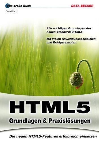 Das große Buch: HTML5
