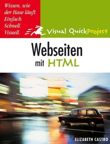 Webseiten mit HTML.