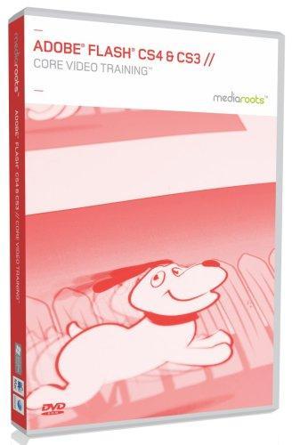 Adobe Flash Pro CS4 & CS3 Core Video Training (Mac/PC DVD)