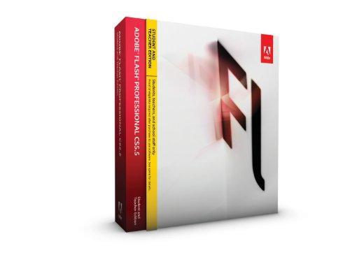 Adobe Flash Pro Creative Suite 5.5 - STUDENT AND TEACHER -