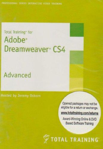 Total Training for Adobe Dreamweaver CS4 Advanced (PC DVD)