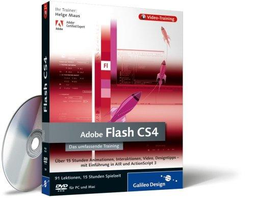Adobe Flash CS4 - Das umfassende Video-Training auf DVD