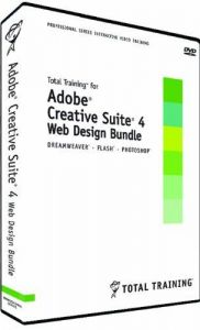 Total Training for Adobe CS4 Web Design Bundle: Dreamweaver,
