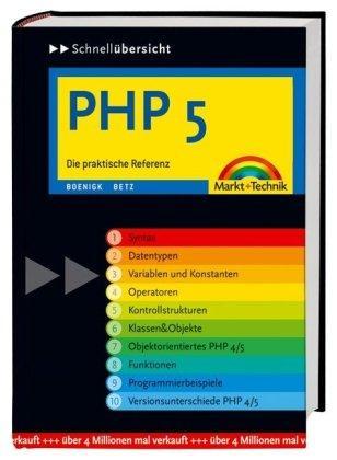 Schnellübersicht PHP5. Die praktische Referenz. Mit