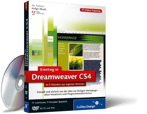 Adobe Dreamweaver CS4 - Der praktische Einstieg. Das