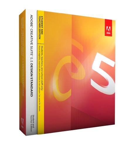 Adobe Creative Suite 5.5 Design Standard - STUDENT AND TEACHER