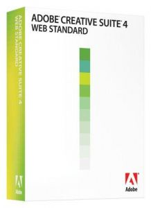 Adobe Creative Suite 4 Web Standard Upgrade von Dreamweaver und
