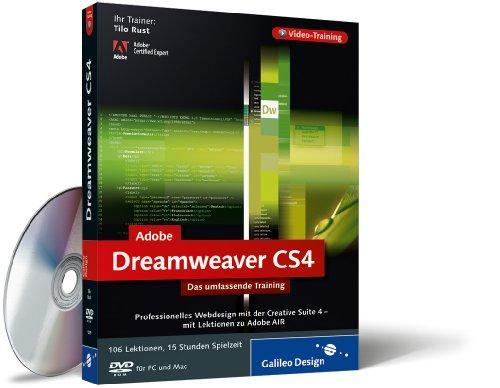 Adobe Dreamweaver CS4 - Das umfassende Video-Training