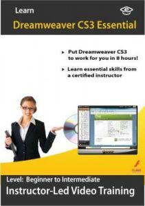 Adobe Dreamweaver CS3 Video Training 2 Courses in 1 by Amazing