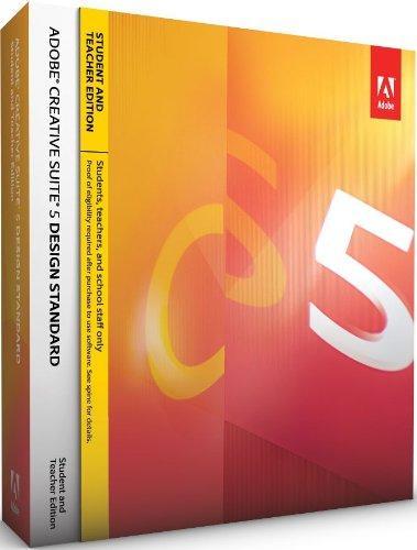 Adobe Creative Suite 5 Design Standard - STUDENT AND TEACHER