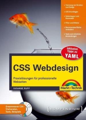 CSS Webdesign - mit 4-seitiger Referenzkarte der