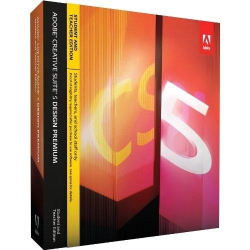 Adobe Creative Suite 5 Design Premium - STUDENT AND TEACHER