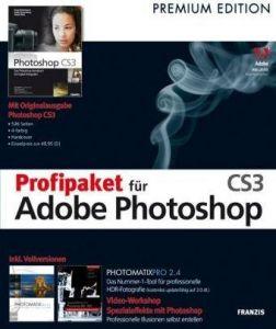 Profipaket für Adobe Photoshop CS 3, CD-ROM Für Windows XP,