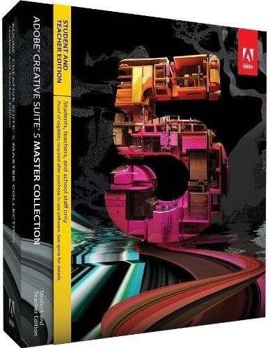 Adobe Creative Suite 5 Master Collection - STUDENT AND TEACHER