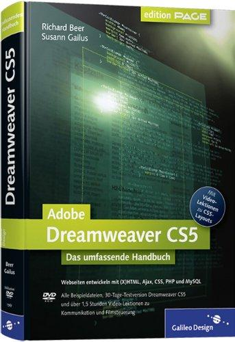Adobe Dreamweaver CS5: Webseiten programmieren und gestalten