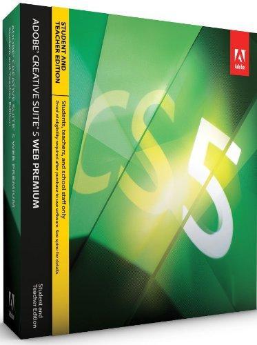 Adobe Creative Suite 5 Web Premium - STUDENT AND TEACHER