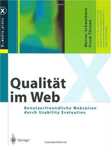 Qualität im Web: Benutzerfreundliche Webseiten durch