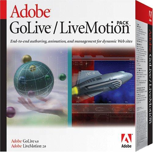 GoLive 6.0 + LiveMotion 2.0 Pack deutsch