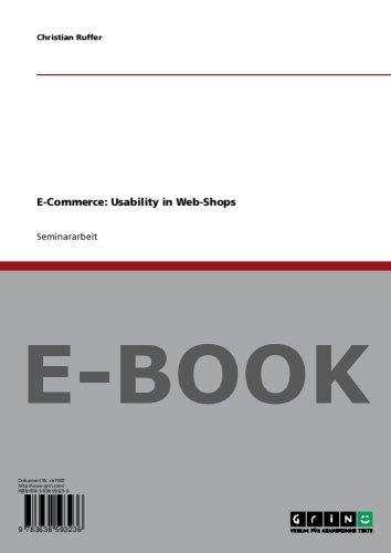 E-Commerce: Usability in Web-Shops
