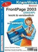 Frontpage 2003 leicht u. verständlich. Leicht & verständlich
