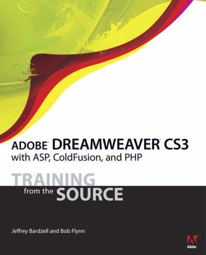 Adobe Dreamweaver CS3 with ASP, ColdFusion, and PHP: Training