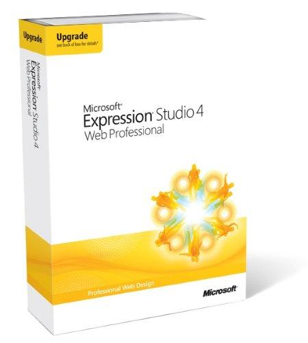 Microsoft Expression Studio Web Professional 4 Upgrade