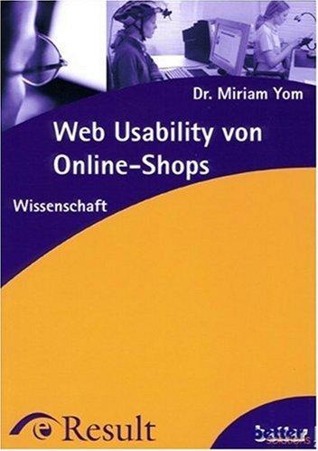 Web Usability von Online-Shops