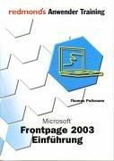 FrontPage 2003 Einführung: redmond's Anwender Training -