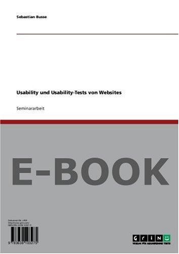 Usability und Usability-Tests von Websites