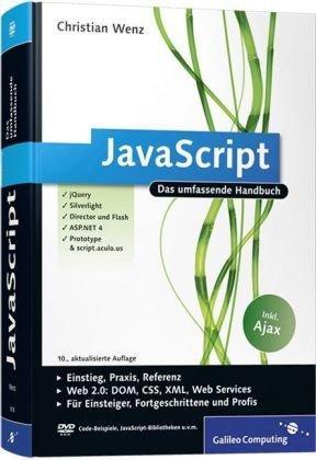 JavaScript: Das umfassende Handbuch (Galileo Computing)