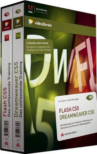video2brain Adobe Flash / Adobe Dreamweaver CS5  - Bundle