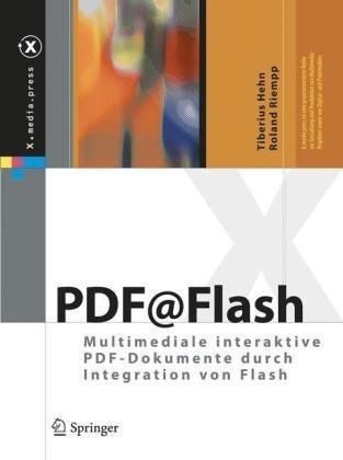 PDF@Flash: Multimediale interaktive PDF-Dokumente durch