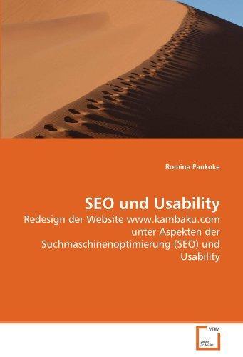 SEO und Usability: Redesign der Website www.kambaku.com unter