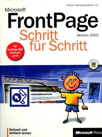 Frontpage 2002 Schritt für Schritt.