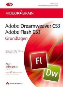 video2brain Adobe Flash CS3/Adobe Dreamweaver CS3 - Bundle. 2