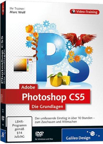 Adobe Photoshop CS5 - Die Grundlagen (PC+MAC)