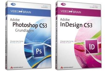 video2brain Adobe Photoshop CS3/Adobe InDesign CS3 - Bundle. 2