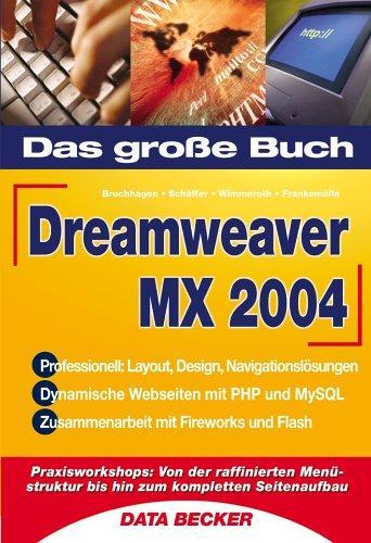 Das große Buch Dreamweaver MX 2004