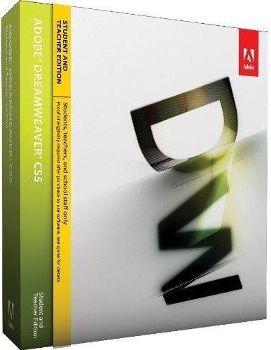 Adobe Dreamweaver CS5 englisch - STUDENT AND TEACHER EDITION -