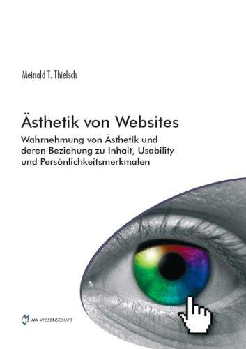Ästhetik von Websites: Wahrnehmung von Ästhetik und deren