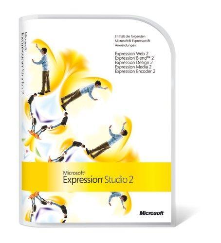 Microsoft Expression Studio 2 Mac/Win deutsch