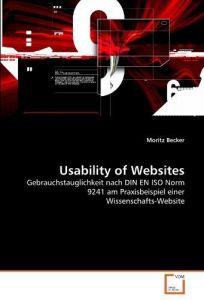 Usability of Websites: Gebrauchstauglichkeit nach DIN EN ISO