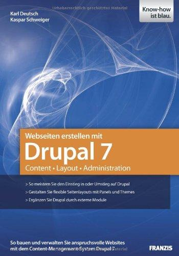 Webseiten erstellen mit Drupal 7 - Content - Layout -