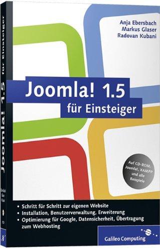 Joomla! 1.5 für Einsteiger: Joomla anpassen und erweitern