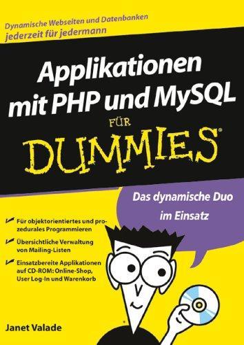 PHP- und MySQL-Applikationen für Dummies: objektorientiertes