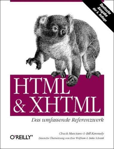 HTML und XHTML, Das umfassende Referenzwerk