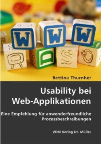 Usability bei Web-Applikationen: Eine Empfehlung für
